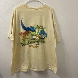 Jimmy buffet Margaritaville tour shirt 05' 2XL
